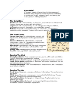 Graphology Basics