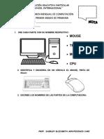 Examen Mensual de Computación Marzo