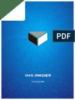 DAO.one Whitepaper v 0.6 f