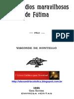 Visconde de Montello_Os Episódios Maravilhosos de Fátima