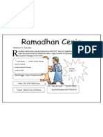 Pamflet Ramadhan Ceria