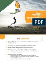 TalentSprint Corporate Presentation Colleges