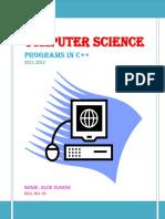 123444332 c programs class 11 mathematical objects mathematics