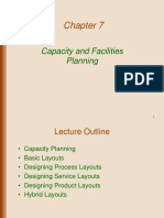 CAPACITY AND FACILITIES PLANNING