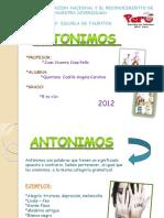 Clases de Antonimos