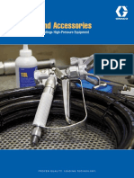 Parts and Accessories for Protective Coatings High-Pressure Equipment