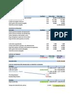 Ejercicio 1 de Evaluacion Financiera