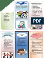 Leaflet Psikososial perkembangan remaja