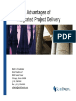 Benefits From Integrated Project Delivery