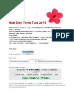 2016 term 2 junior team hub day
