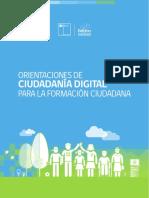 Orientaciones de Ciudadania Digital Para La Formacion Ciudadana Web