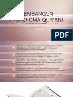 Bab IV Bagaimana Membangun Paradigma Qurani