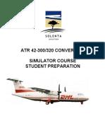 ATR - Sim Initial Course - Student Prep