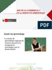 Coherencia y Pertinencia de La Sesion de Aprendizaje