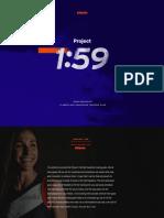 Project 159 Training Plan