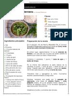 Curry Verde de Ternera