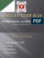 Simulasi Code Blue