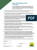 Kode Etik Kebijakan Perlindungan Anak EBPP