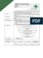 5.2.3.1 SOP Monitoring Jadwal Dan Pelaksanaan Monitoring