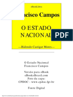 Francisco Campso o Estado Nacional