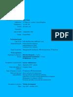 Curriculum Vitae Model