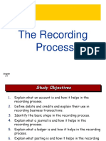 The Recording Process