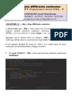 La variable « this » dans différents contextes en JavaScript