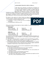 Prácticas Estructura de Capital