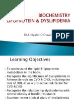 IT 13 Lipoprotein & Dyslipidemia Dr Lin Oswari Blok 8