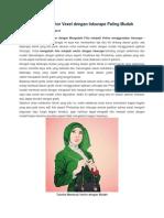 Cara Membuat Vector Vexel Dengan Inkscape Paling Mudah