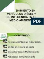 Mantenimiento en Vehiculos Diesel y Sun Influencia en El Ambiente