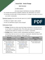 social change unit overview