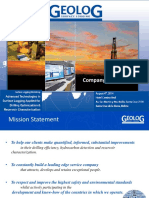 0 Geolog Company Overview 2014