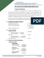 03. Memoria de Calculo_estructura Metalica Modulo 4