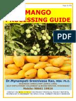 Mango Processing Guide by Mynampati Sreenivasa Rao