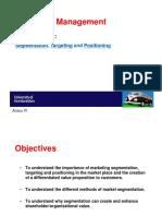 Lecture 2_Segmentation, Targeting & Positioning