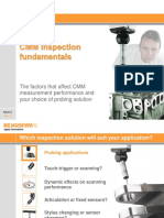 CMM Inspection Fundamentals