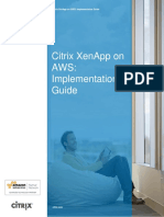Citrix Xenapp on Aws Implementation Guide