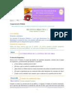 Secuencia Didactica 1 Los Principios de La Estimación de Obra