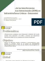 Revisión de las Interferencias Electromagnéticas (IEMI)