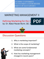 1 Defening Marketing for 21st Century