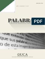 Revista Palabras UCA N1