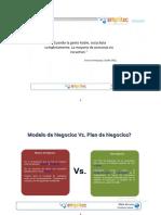 Modelo de Negocios vs PLAN