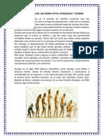 La Evolución de Los Seres Vivo1