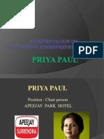 Priya Paul New