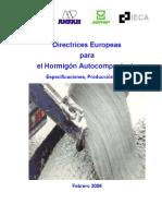 Directrices Europeas para el Hormigón Autocompactante. Especificaciones, Producción y Usos.pdf