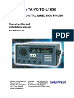 TD-L1630 Instruction Manual