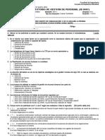 Solucionario Examen Sustitutorio Gestión Personal 2014-i