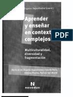 Aprender y EnseÑar en Contextos Complejos María de Los a. Sagastizabal Parte 1de2