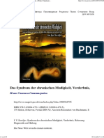 Das Syndrom Der Chronischen Mudigkeit, Verderbnis, ( - ) .